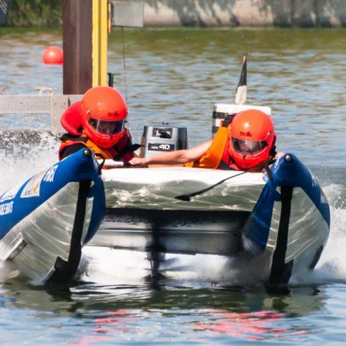 25. Int. ADAC-DMYV Motorbootrennen in Berlin-Grünau