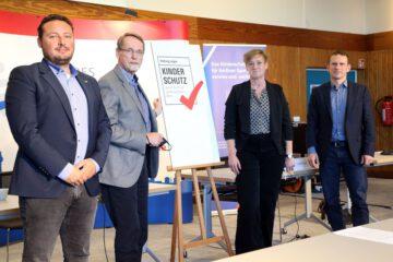 Kinderschutzsiegel des LSB vorgestellt